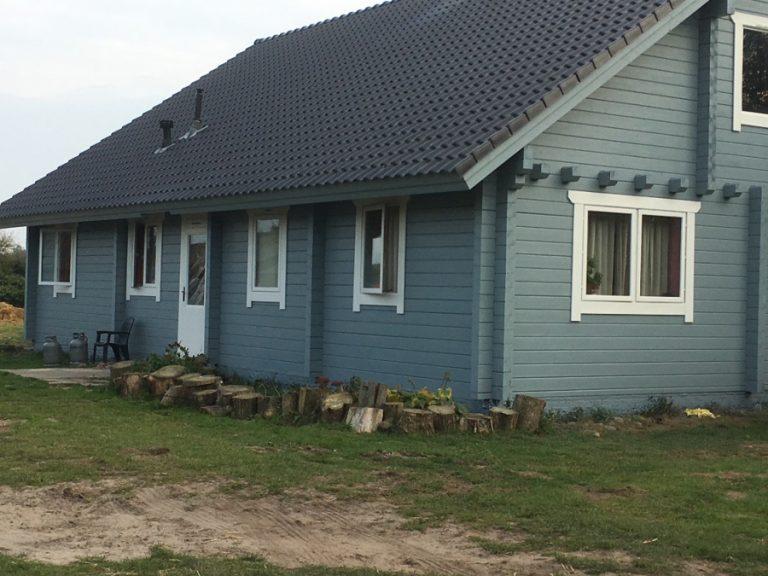 Tabbers & Partners - Afgewerkte houten woning